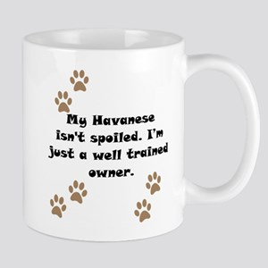 Well Trained Havanese Owner Small Mug